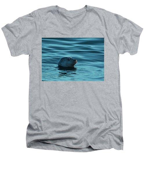 Harbor Seal Men's V-Neck T-Shirt