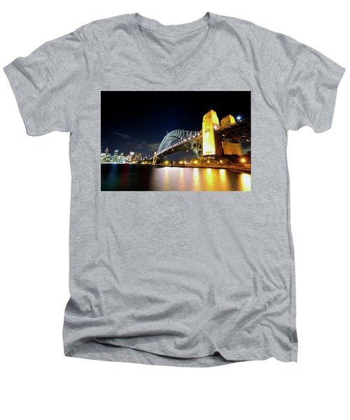 Harbour City Men's V-Neck T-Shirt