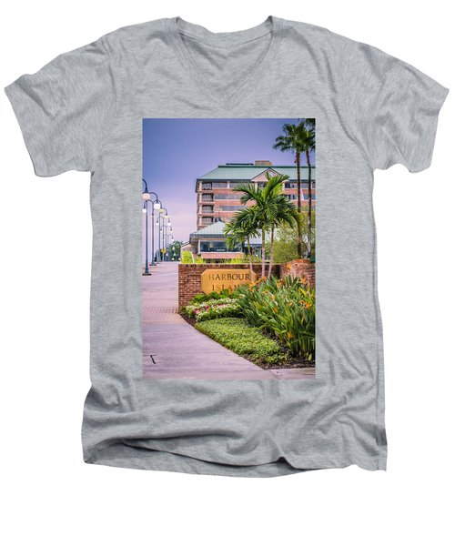 Harbour Island Retreat Men's V-Neck T-Shirt