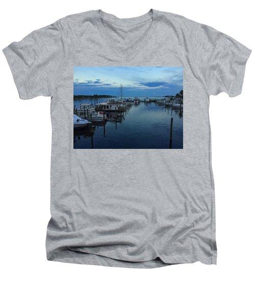 Harbour Nights Men's V-Neck T-Shirt