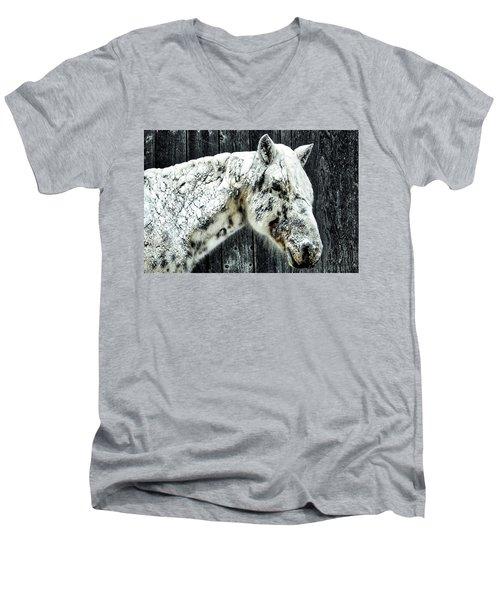 Hard Winter Men's V-Neck T-Shirt