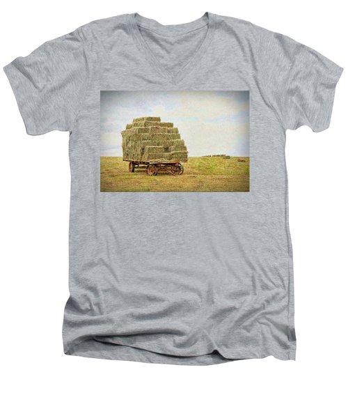 Hard Work Men's V-Neck T-Shirt