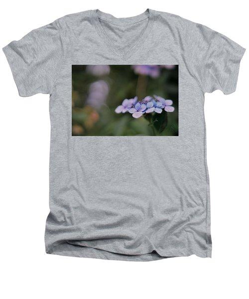 Hardy Blue Men's V-Neck T-Shirt