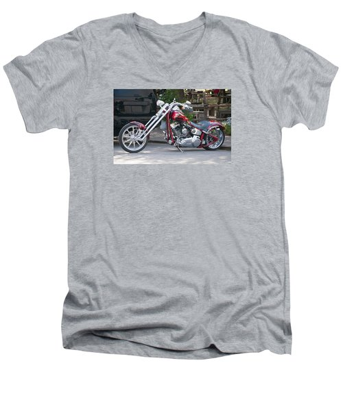 Harley Chopped Men's V-Neck T-Shirt