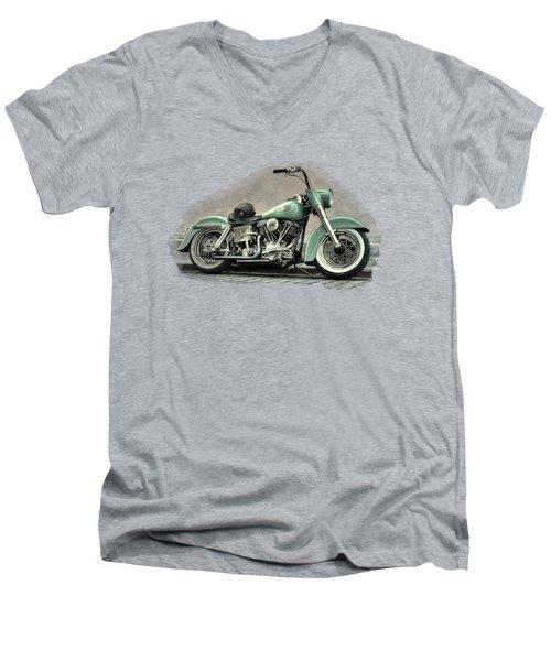 Harley Davidson Classic  Men's V-Neck T-Shirt