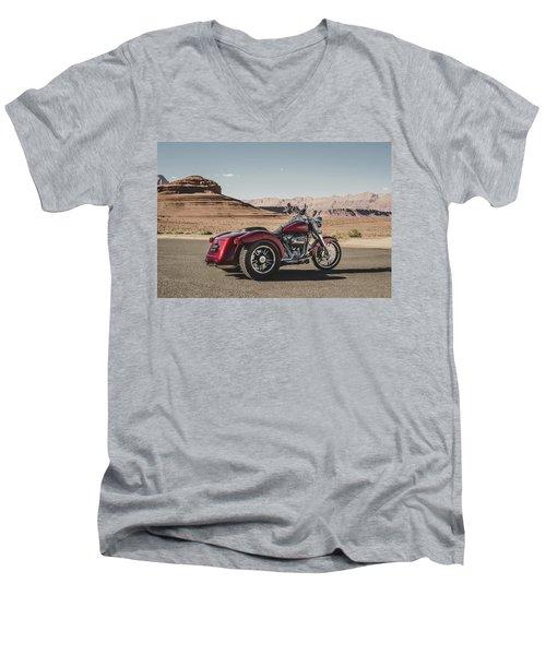 Harley-davidson Freewheeler Men's V-Neck T-Shirt