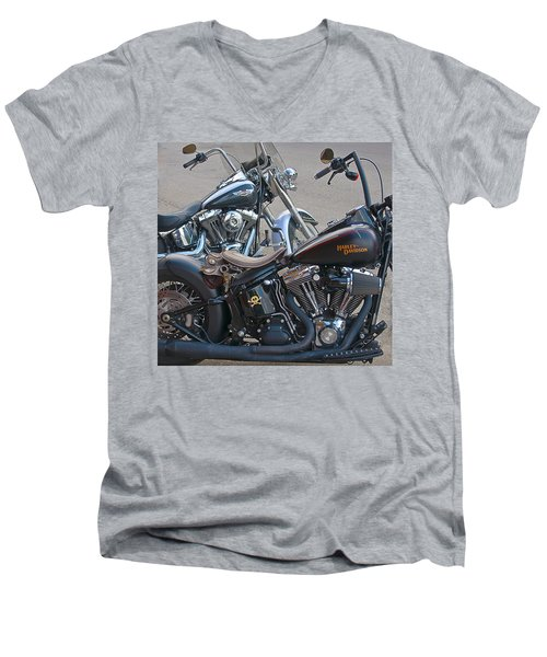 Harleys Men's V-Neck T-Shirt