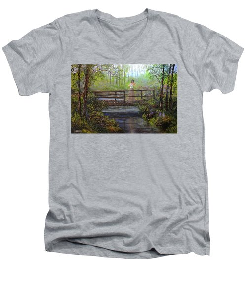 Harmany Men's V-Neck T-Shirt