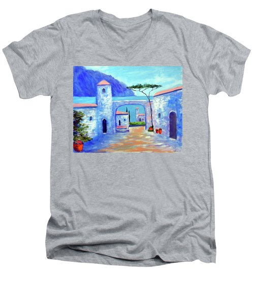 Harmony Of Como Men's V-Neck T-Shirt