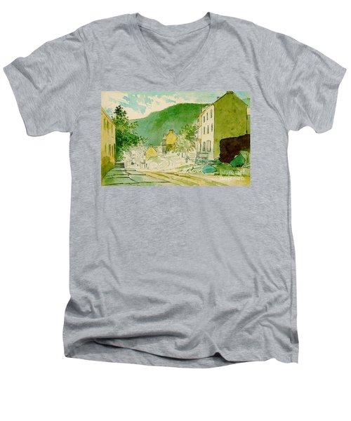 Harpers Ferry West Virginia 1873 Men's V-Neck T-Shirt