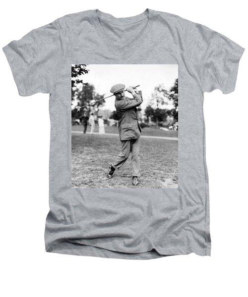 Harry Vardon - Golfer Men's V-Neck T-Shirt