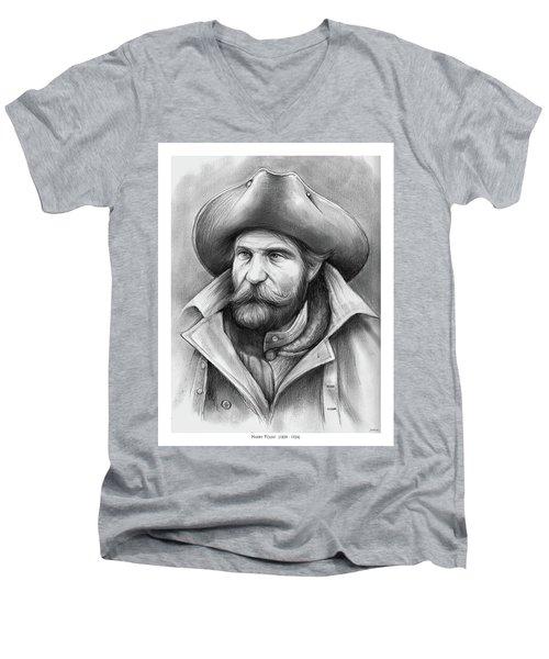 Harry Yount Men's V-Neck T-Shirt