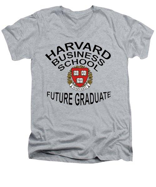 Harvard Business School Future Graduate Men's V-Neck T-Shirt