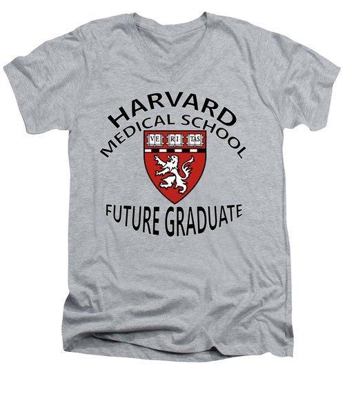 Harvard Medical School Future Graduate Men's V-Neck T-Shirt