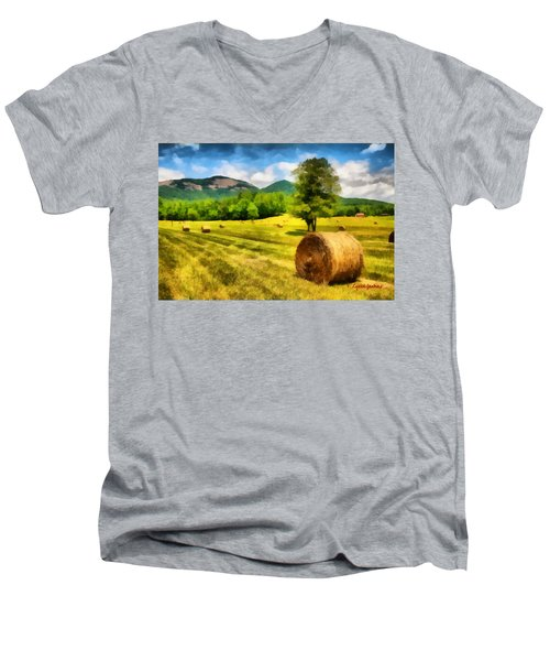 Harvest At Table Rock Men's V-Neck T-Shirt
