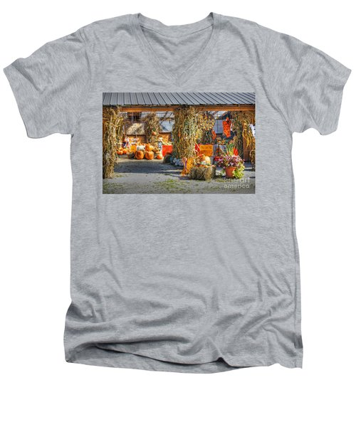 Harvest Days Men's V-Neck T-Shirt