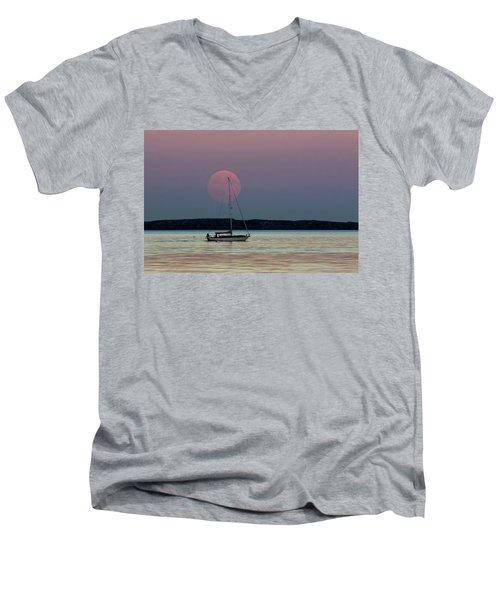 Harvest Moon - 365-193 Men's V-Neck T-Shirt