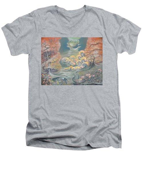 Harvest Moons Men's V-Neck T-Shirt