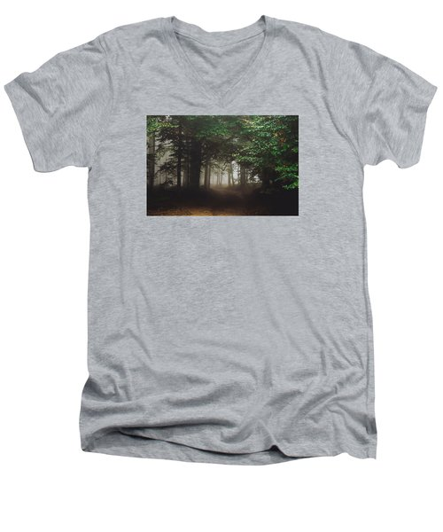 Haunted Forest #2 Men's V-Neck T-Shirt