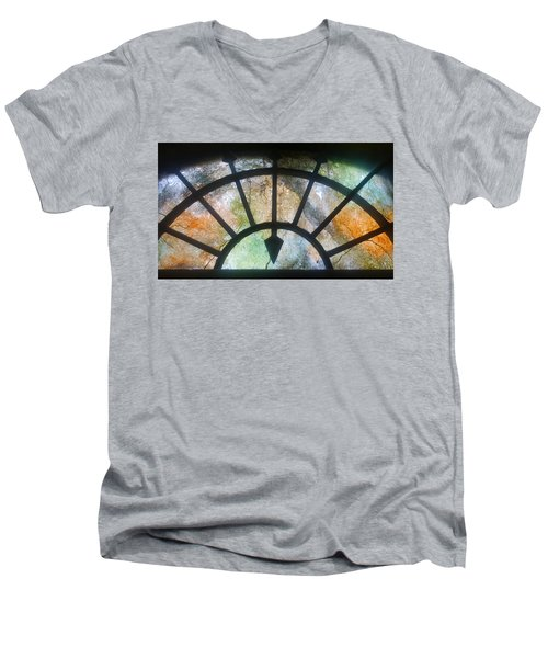 Haunted Window Men's V-Neck T-Shirt