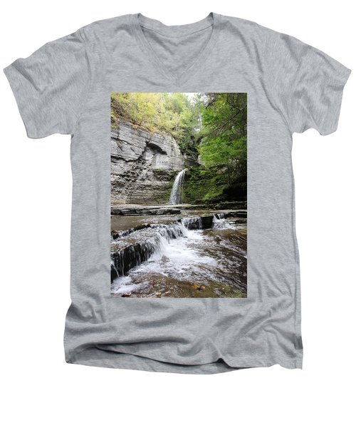 Eagle Cliff Falls II Men's V-Neck T-Shirt