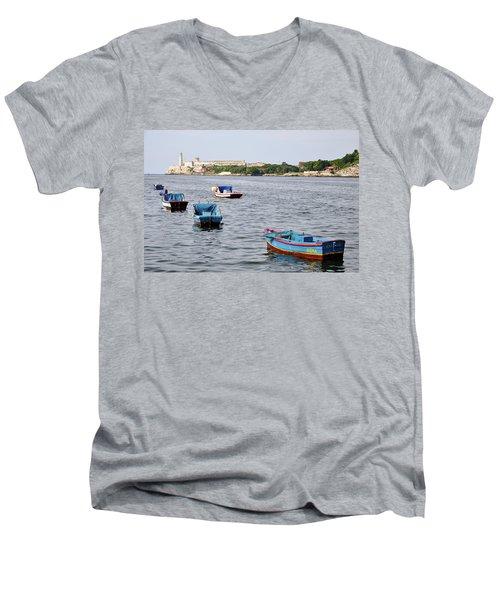 Havana Harbor Men's V-Neck T-Shirt