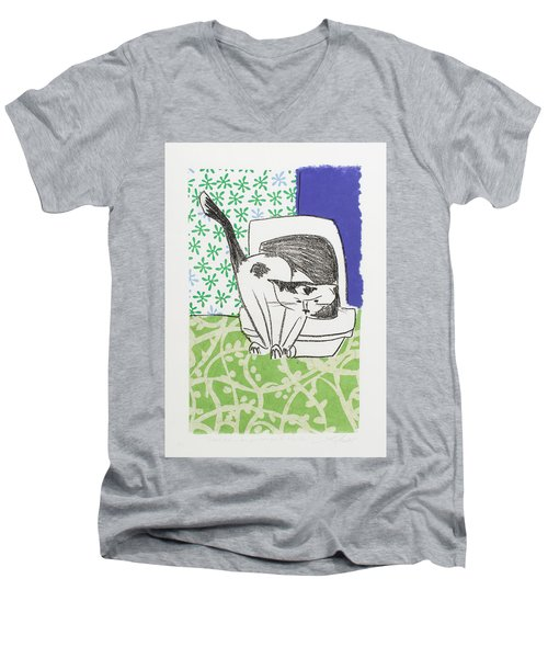 Have You Even Seen The Litter Men's V-Neck T-Shirt by Leela Payne