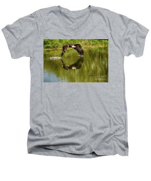 Having A Dip Men's V-Neck T-Shirt