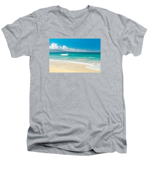 Hawaii Beach Treasures Men's V-Neck T-Shirt