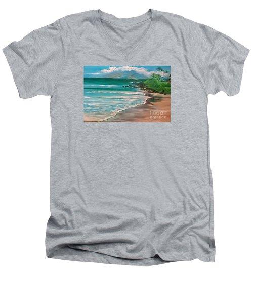 Hawaii Honeymoon Men's V-Neck T-Shirt
