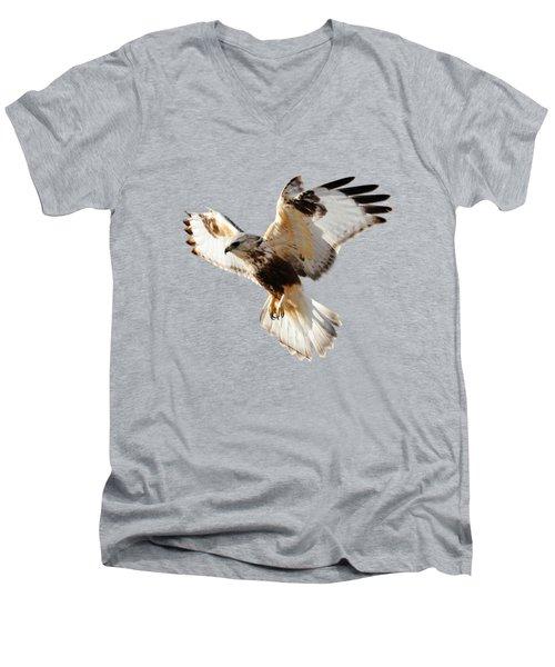 Hawk T-shirt Men's V-Neck T-Shirt