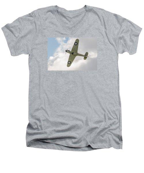 Hawker Hurricane Mk I Men's V-Neck T-Shirt by Gary Eason