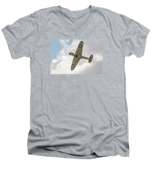 Hawker Hurricane Mk I Men's V-Neck T-Shirt