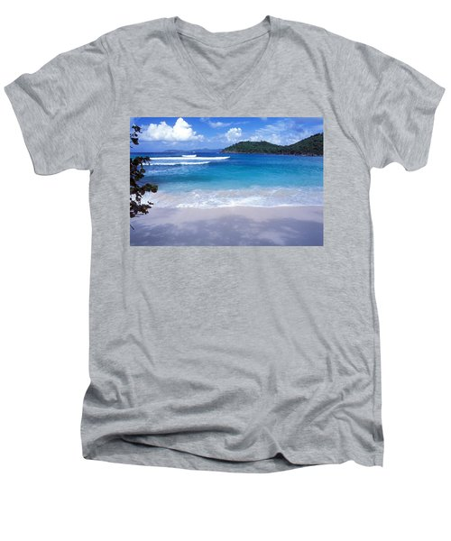 Hawksnest Bay 6 Men's V-Neck T-Shirt