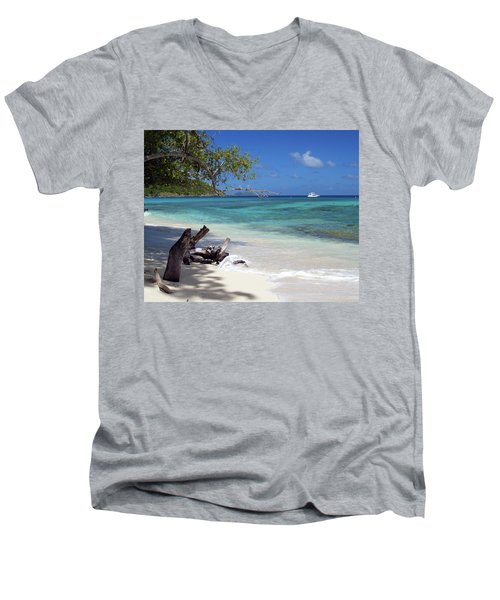 Hawksnest Bay 1 Men's V-Neck T-Shirt