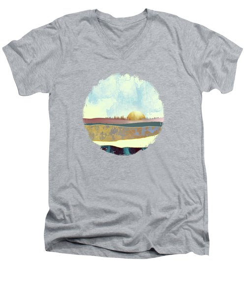 Hazy Afternoon Men's V-Neck T-Shirt