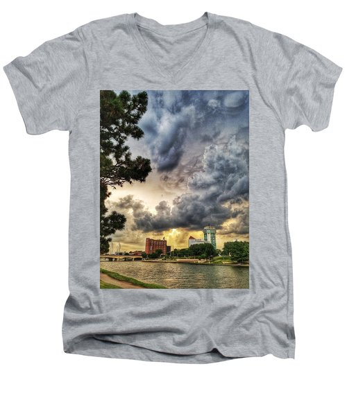 Hdr Ict Thunder Men's V-Neck T-Shirt