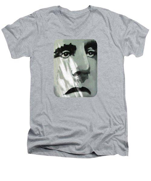 He Is Not Amused Men's V-Neck T-Shirt
