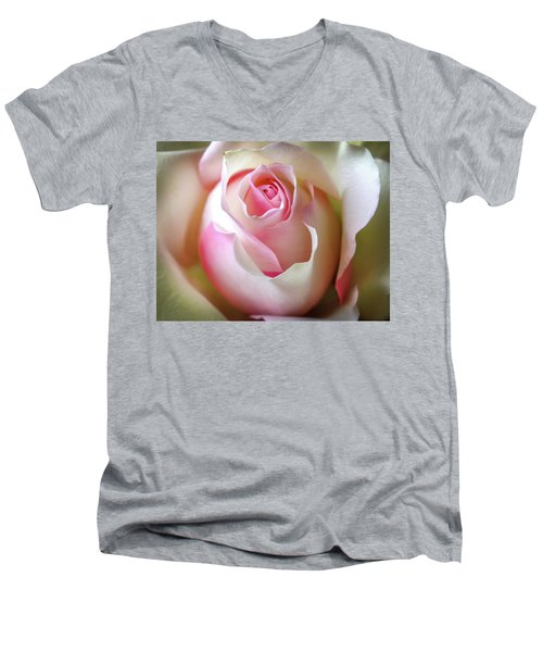 He Loves Me Still Men's V-Neck T-Shirt by Karen Wiles