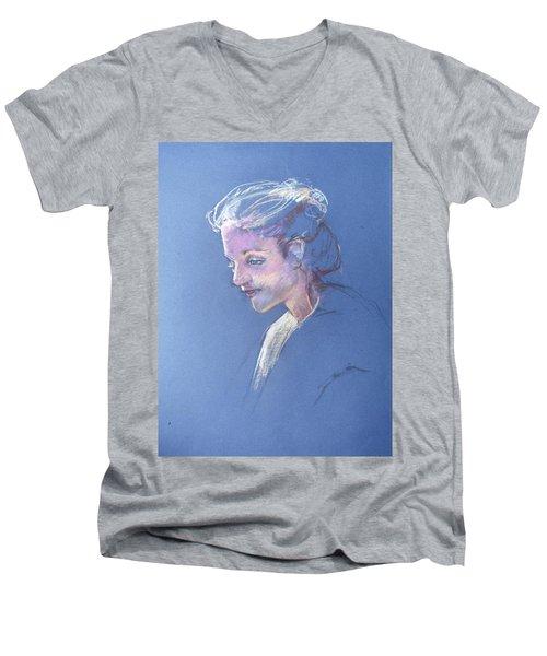 Head Study 6 Men's V-Neck T-Shirt