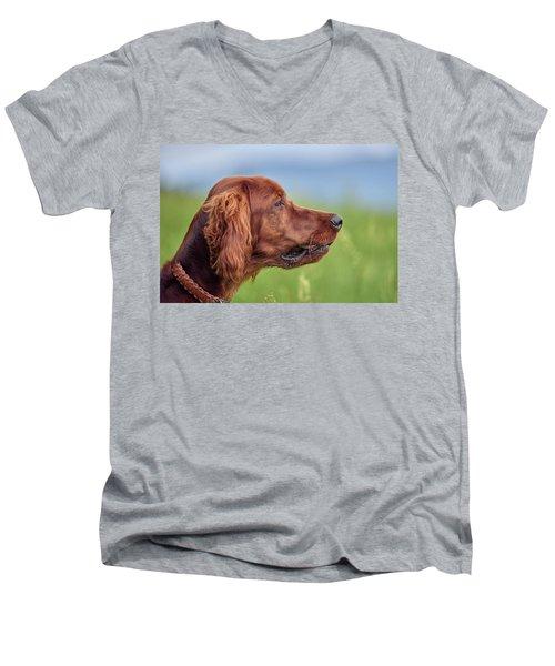 Head Study Men's V-Neck T-Shirt