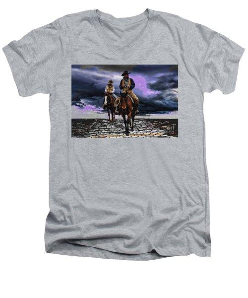 Headed Home Men's V-Neck T-Shirt