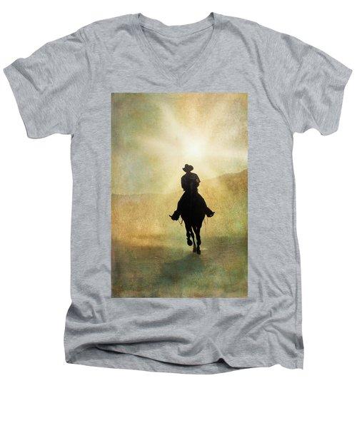 Headed Home L Men's V-Neck T-Shirt