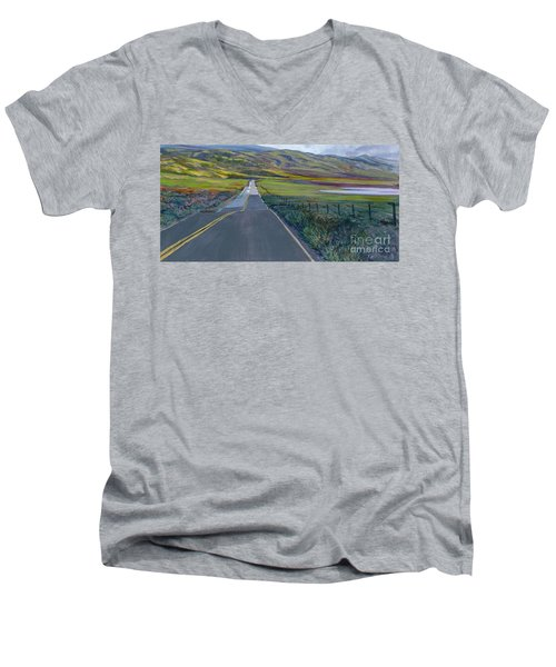 Heading For The Hills Men's V-Neck T-Shirt