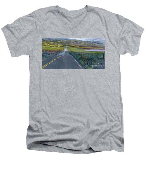 Heading For The Hills Men's V-Neck T-Shirt