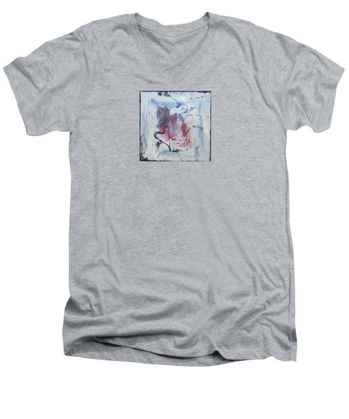 Heart 2 Men's V-Neck T-Shirt