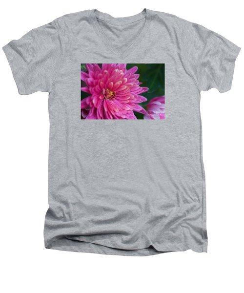 Heart Of A Mum Men's V-Neck T-Shirt by Jim Gillen