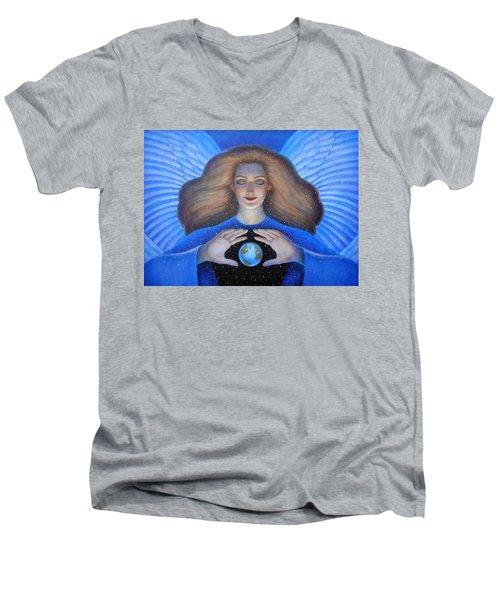 Heart Of Creation Men's V-Neck T-Shirt