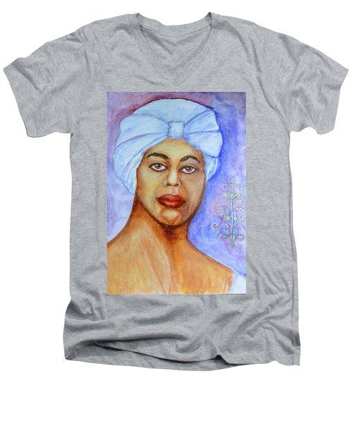 Heart Of Love  Marie Laveau Men's V-Neck T-Shirt