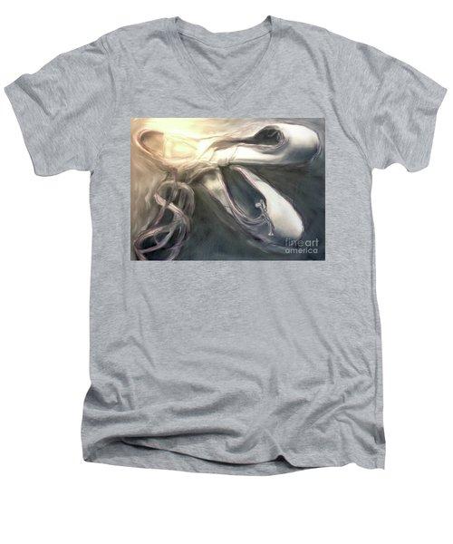 Heart Of The Dance Men's V-Neck T-Shirt